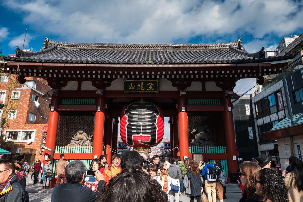 Tokio viaje a jap n for Puerta kaminarimon