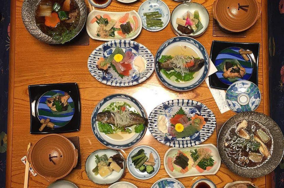Comida y bebida en Japón