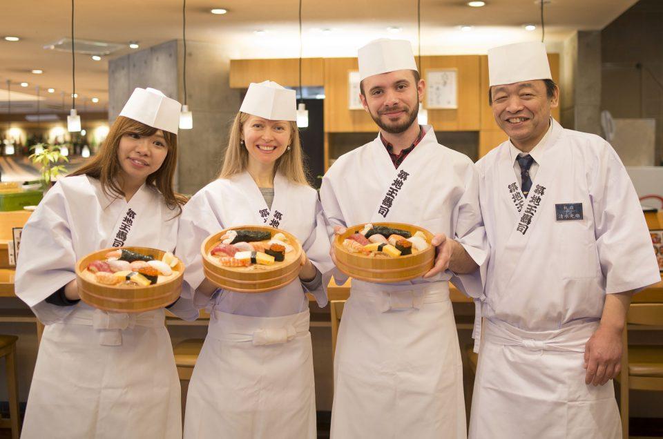 Haz tu propio sushi en Japón