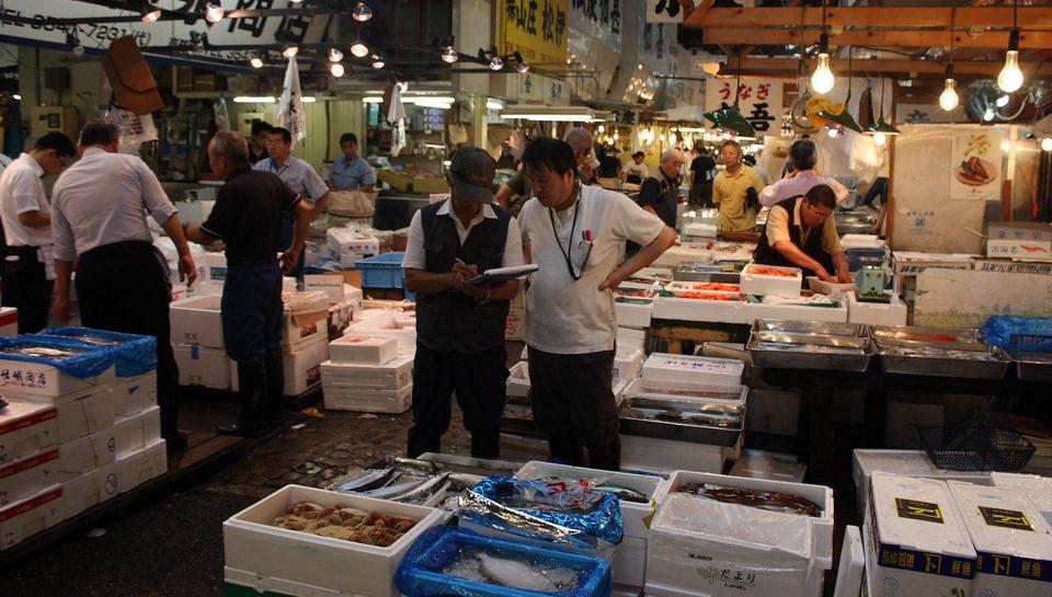 Tour de degustación del mercado de pescado de Tsukiji