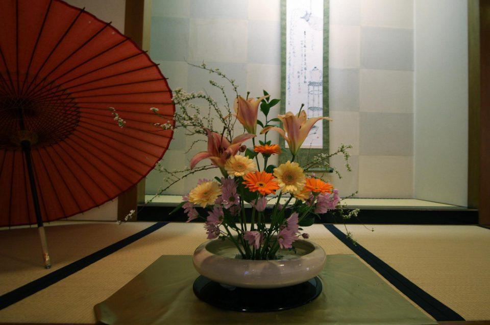 Arreglos florales de Ikebana
