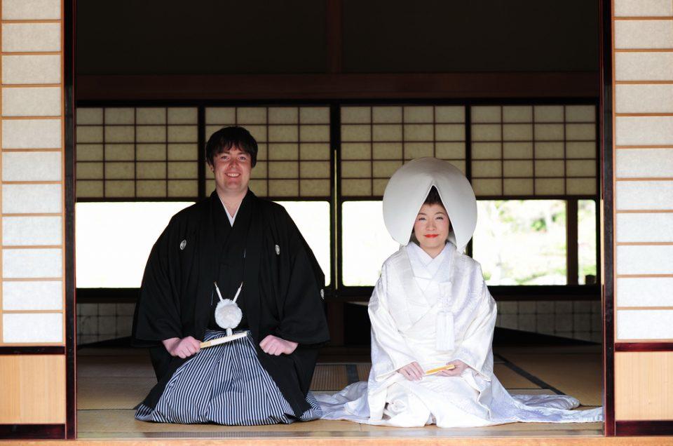 Kimono de boda
