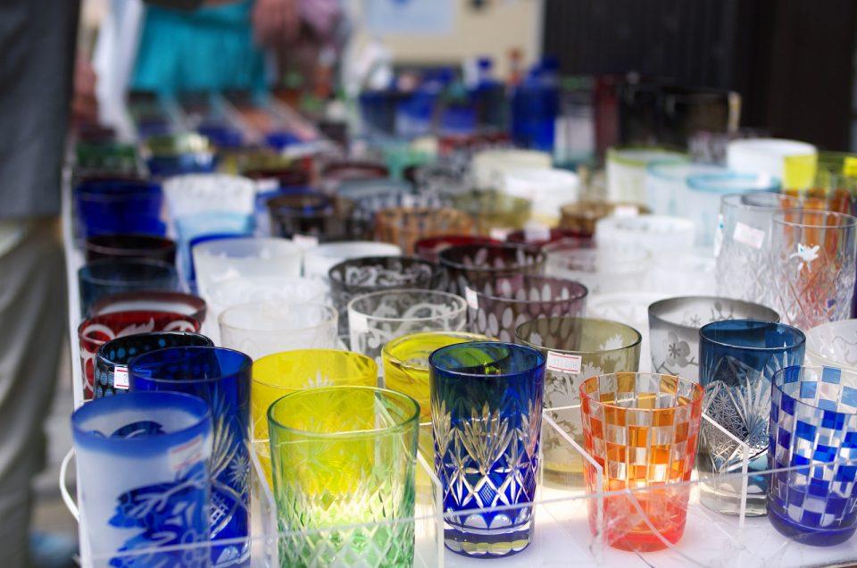 Corte de vidrio Kiriko
