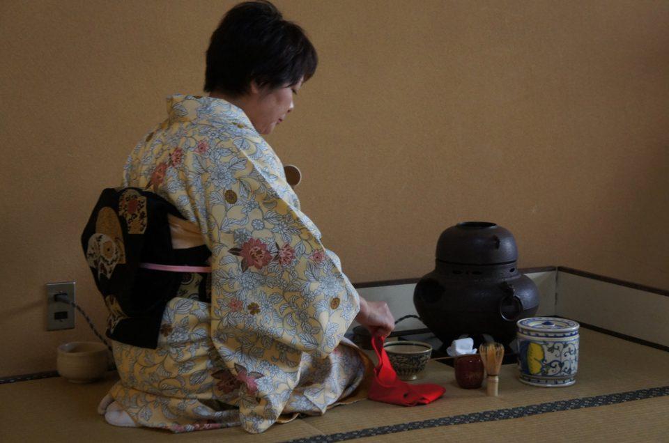Ceremonia del té japonés