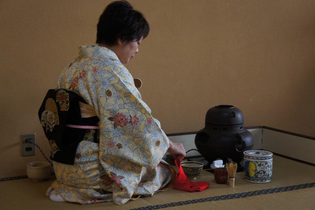 la ceremonia de té