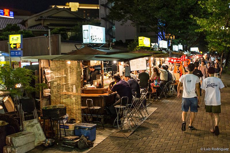 Puestos de comida callejeros: YATAI