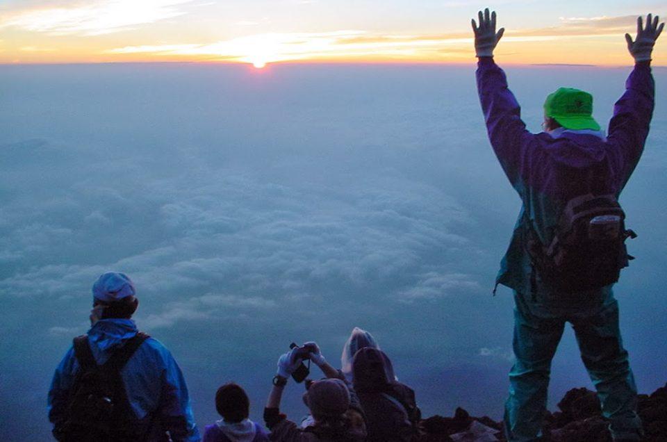 Suba el Monte Fuji (desde Hakone)