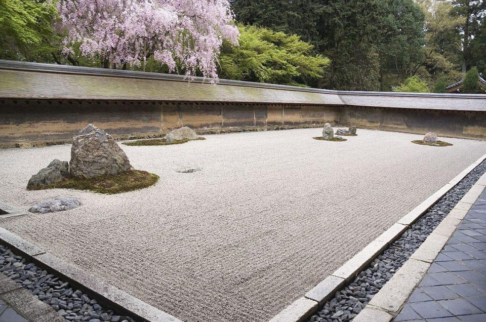 Jardín de rocas Ryoan-ji