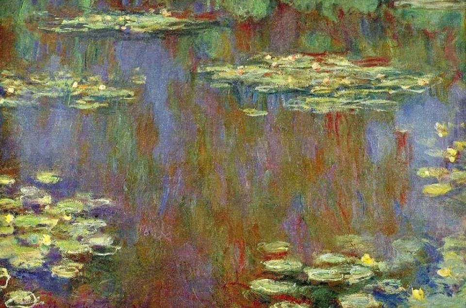 Lirios de agua de Monet