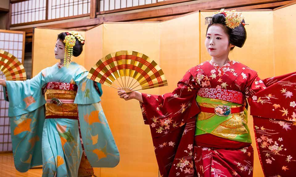 Clase de baile japonés