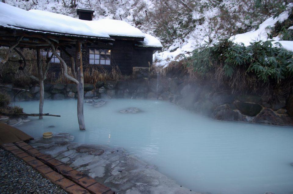 Baño termal Nyuto Onsen