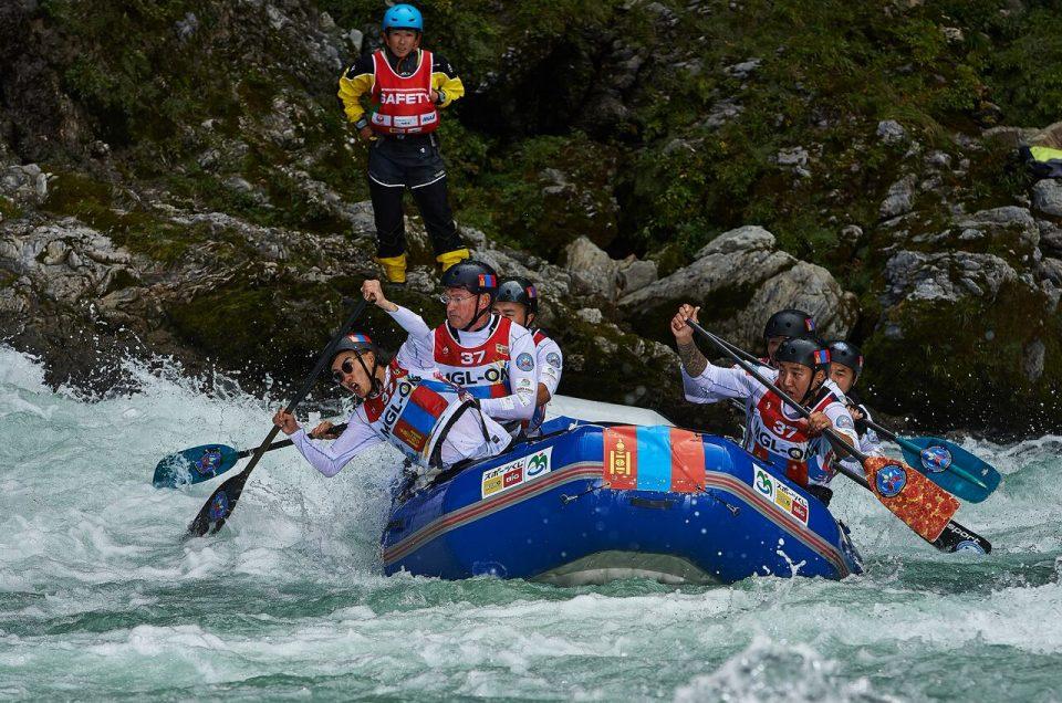 Rafting en el río Yoshino