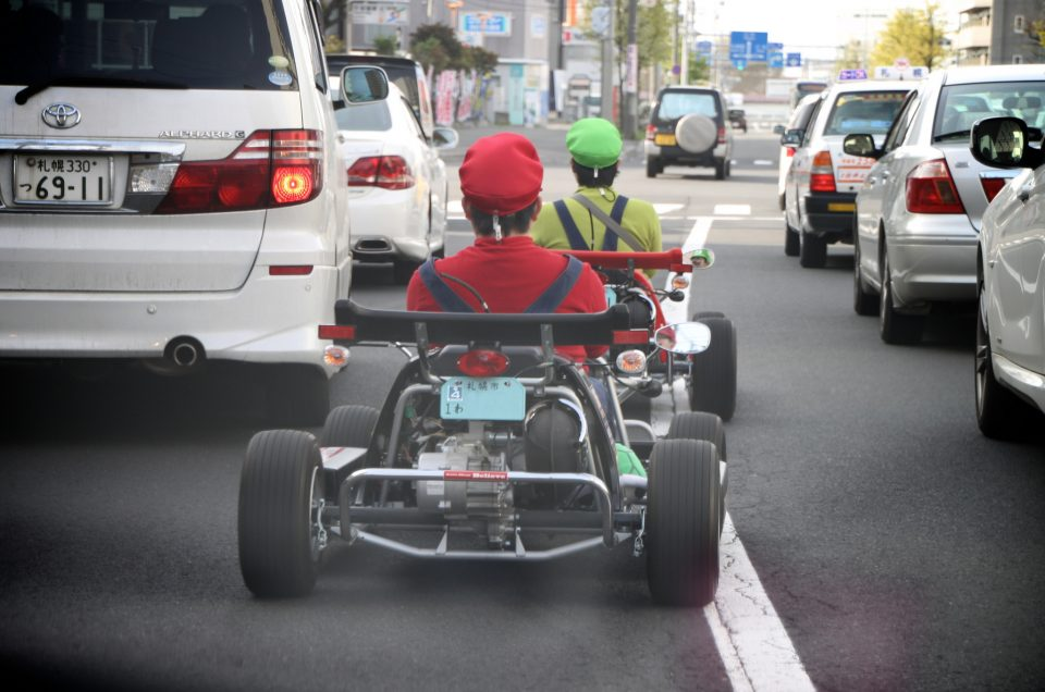 ¡Karting callejero en Tokio!