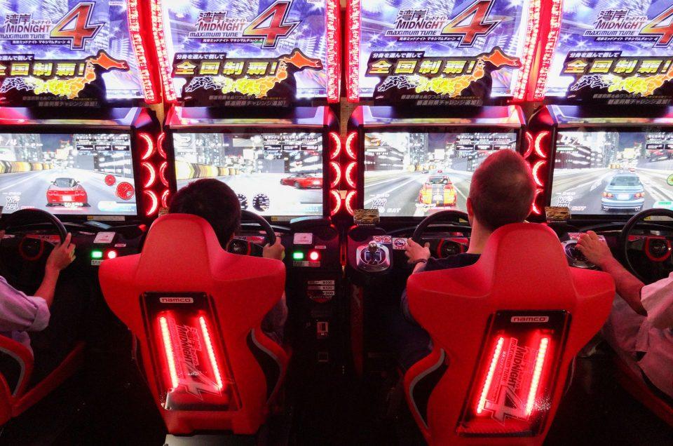 Tour de videojuegos en Tokio