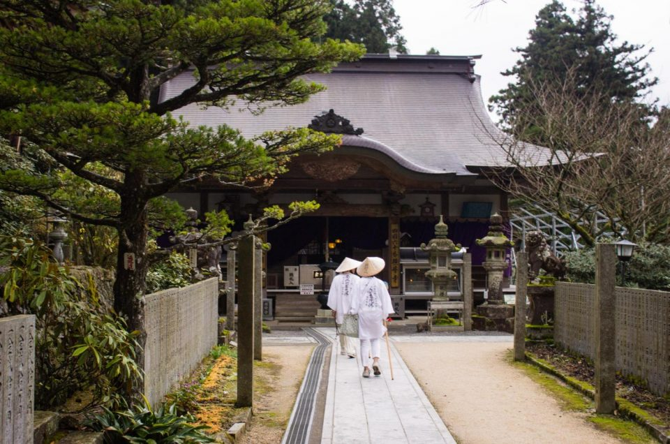 La ruta de peregrinaje de Shikoku