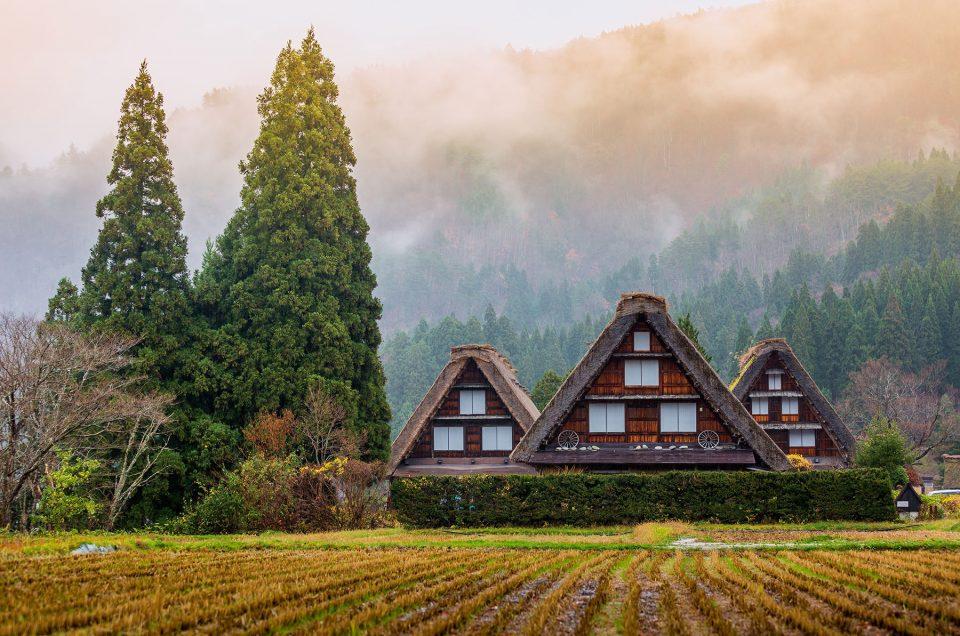 Conoce un paraje natural sensacional en la aldea de Shirakawago (Toyama)